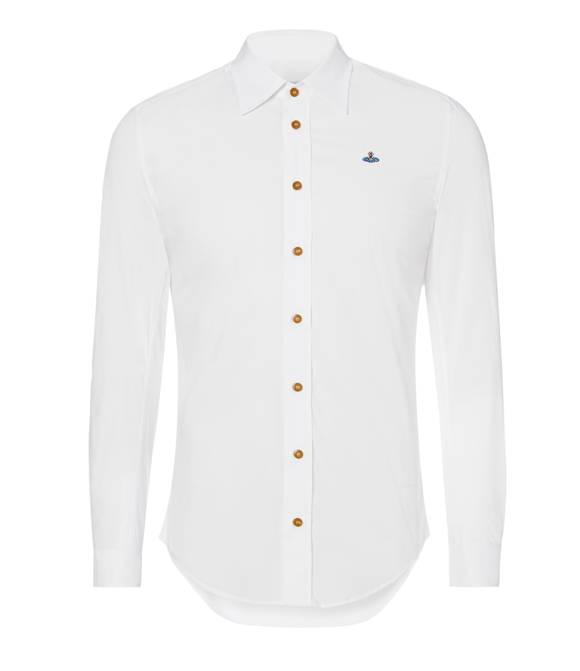 Vivienne Westwood Classic Stretch Shirt White